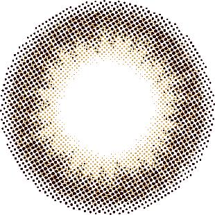 mimuco ミムコ ワンデー 10枚/箱 (度なし) ブラウンフォンデュ の画像 1
