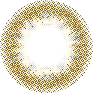 mimuco ミムコ ワンデー 10枚/箱 (度なし) キャラメルスフレ の画像 1