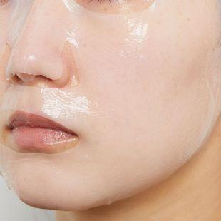 BRISKIN リアルフィット セカンドスキン マスク ホワイト 28g×1枚 の画像 1