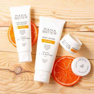 ママバター フェイス&ボディオイルクリーム オレンジの香り 60g の画像 2