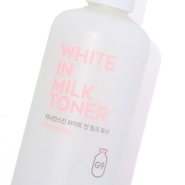 G9SKINのホワイトインミルクトナー  300mlに関するメイン画像