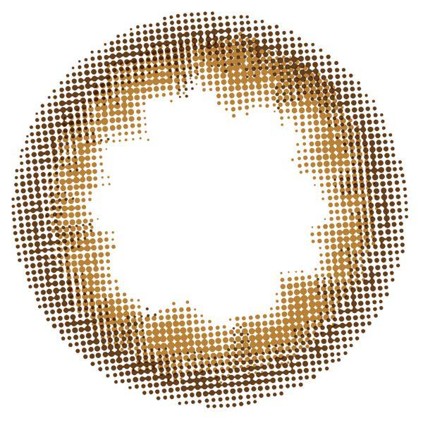 スリーラブベリーのスリーラブベリー ワンデー 10枚/箱 (度なし) カフェモカに関する画像2