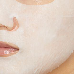 バイエコム ピュアカーミングクリームマスク 25ml×7枚 の画像 1