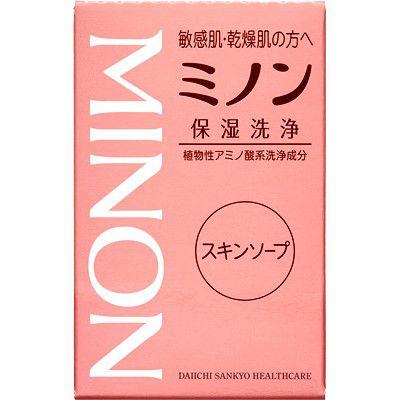 ミノンのミノンスキンソープ 80gに関する画像2