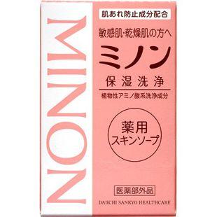 ミノン ミノン薬用スキンソープ <医薬部外品> 80g の画像 1