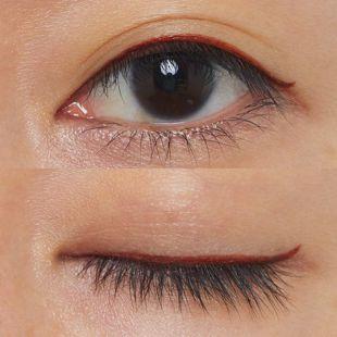 リンメル エグザジェレート ラスティングリキッド アイライナー WP 102 自然に目元になじむようなレトロなオレンジブラウン【限定色】 0.5ml の画像 1