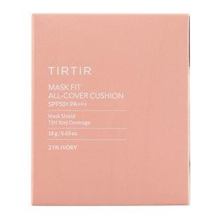 TIRTIR マスクフィットオールカバークッション 21N IVORY 18g SPF50+ PA+++ の画像 2