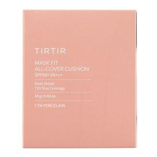 TIRTIR マスクフィットオールカバークッション 17N PORCELAIN 18g SPF50+ PA+++ の画像 2
