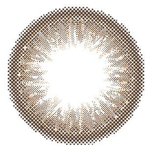 アイジェニック EYEGENIC(アイジェニック) by evercolor 1ヶ月 2枚/箱 (度なし) N02 ダスティブラウン の画像 1