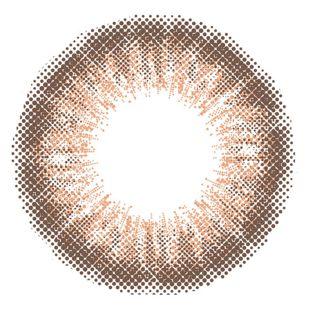 アイジェニック EYEGENIC(アイジェニック) by evercolor 1ヶ月 2枚/箱 (度なし) N03 シマーショコラ の画像 1