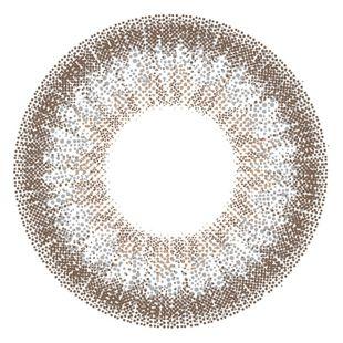 アイジェニック EYEGENIC(アイジェニック) by evercolor 1ヶ月 2枚/箱 (度なし) H01 パールグレージュ の画像 1