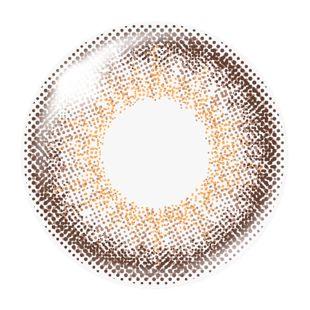 MURUA MURUA 1day Contact Lens オフィシャルシリーズ 10枚/箱 (度なし) アルズィブラウン の画像 1