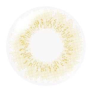 MURUA MURUA 1day Contact Lens オフィシャルシリーズ 10枚/箱 (度なし) ジュアイエロー の画像 1