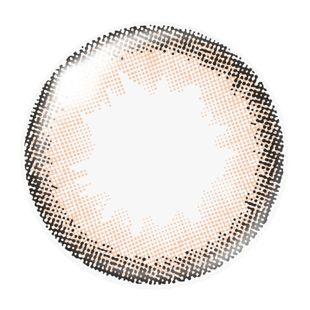ダズリン dazzlin ワンデー 10枚/箱 (度なし) UN-39 アンジュローズ の画像 1