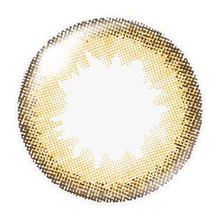 ダズリン dazzlin ワンデー 10枚/箱 (度なし) UN-38 アンジュミモザ の画像 1