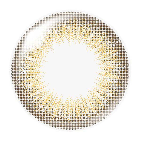 ダズリンのdazzlin ワンデー 10枚/箱 (度なし) UN-36 ピュールオレンジに関する画像2