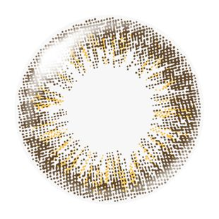 ダズリン dazzlin ワンデー 10枚/箱 (度なし) UN-34 ノブレスヘーゼル の画像 1