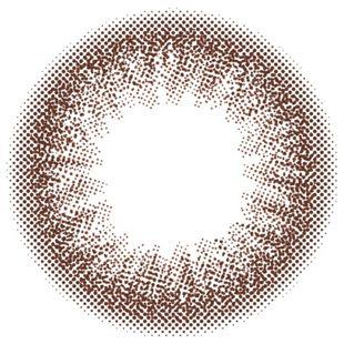 カラーズ colors マンスリー 2枚/箱 (度なし) エアリーブラウン の画像 1