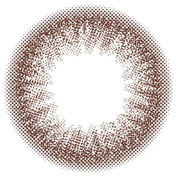 カラーズのcolors マンスリー 2枚/箱 (度なし) エアリーブラウンに関する画像2