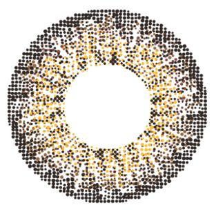 エンジェルカラー メルシェ by エンジェルカラー 2枚/箱 (度なし) チョコクリスピー の画像 1