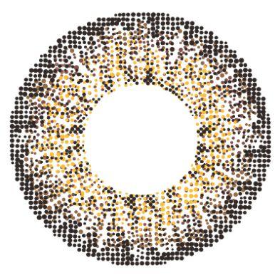 エンジェルカラーのメルシェ by エンジェルカラー 2枚/箱 (度なし) チョコクリスピーに関する画像2