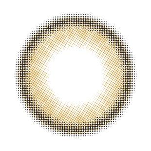 メランジェ メランジェ シュエット モイストイン ワンデー10枚/箱 (度なし) セレニティベージュ の画像 1