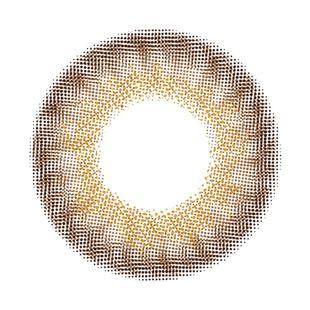メランジェ メランジェ シュエット モイストイン ワンデー10枚/箱 (度なし) グレーヌトープ の画像 1
