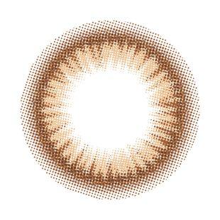 メランジェ メランジェ シュエット モイストイン ワンデー10枚/箱 (度なし) アイリッシュブラウン の画像 1