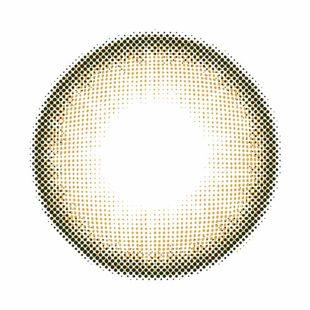 ジーヴル スパークル ジーヴル スパークル ワンデー 10枚/箱 (度なし) スプレイブラウン の画像 1