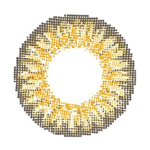 イットアイズ イットアイズ メローシリーズ ワンデー 10枚/箱 (度なし) ヘーゼルベージュ の画像 1