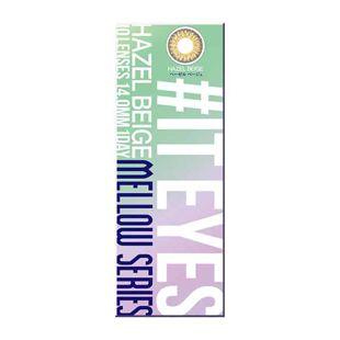 イットアイズ イットアイズ メローシリーズ ワンデー 10枚/箱 (度なし) ヘーゼルベージュ の画像 3