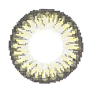 イットアイズ イットアイズ メローシリーズ ワンデー 10枚/箱 (度なし) ヘーゼルグレー の画像 1