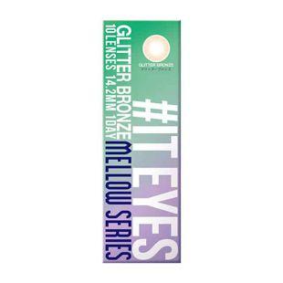 イットアイズ イットアイズ メローシリーズ ワンデー 10枚/箱 (度なし) グリッターブロンズ の画像 3