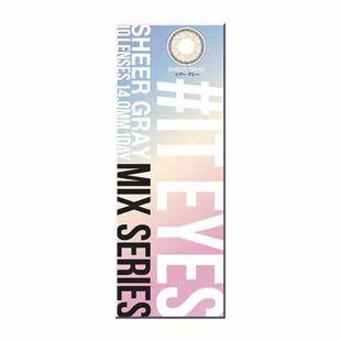 イットアイズ イットアイズ ミックスシリーズ ワンデー 10枚/箱 (度なし) シアーグレー の画像 3