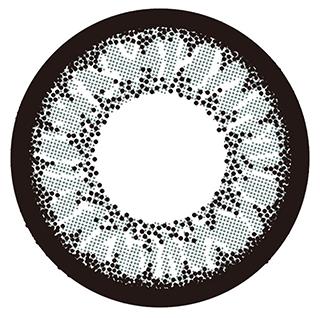 ミラージュのミラージュ マンスリー 2枚/箱 (度なし) デイジーグレーに関する画像2