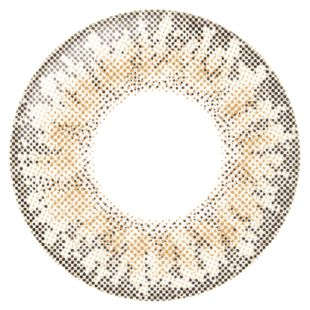 リルムーン リルムーン マンスリー 2枚/箱 (度なし) クリームベージュ の画像 1