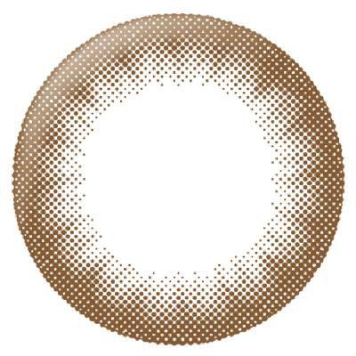 リルムーンのリルムーン マンスリー チョコレート ±0.00 2枚 DIA 14.5mm BC 8.6mmに関する画像2