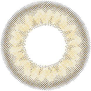 リルムーン リルムーン マンスリー 2枚/箱 (度なし) スキンベージュ の画像 1