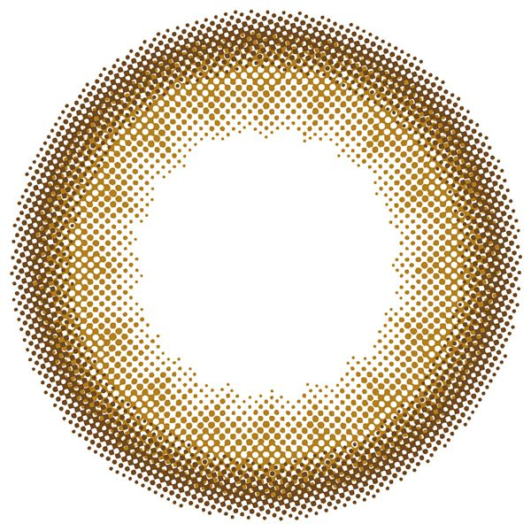 リルムーンのリルムーン マンスリー 2枚/箱 (度なし) ヌードチョコレートに関する画像2