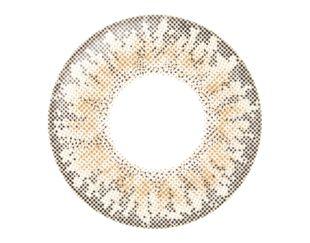 リルムーン リルムーン ワンデー 30枚/箱 (度なし) クリームベージュ の画像 1