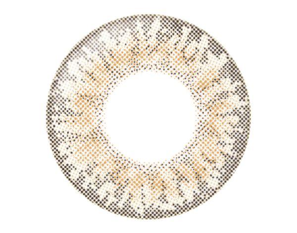 リルムーンのリルムーン ワンデー 30枚/箱 (度なし) クリームベージュに関する画像2