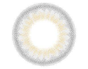 リルムーン リルムーン ワンデー 30枚/箱 (度なし) スキングレージュ の画像 1