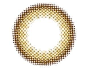 リルムーン リルムーン ワンデー 30枚/箱 (度なし) ヌードチョコレート の画像 1