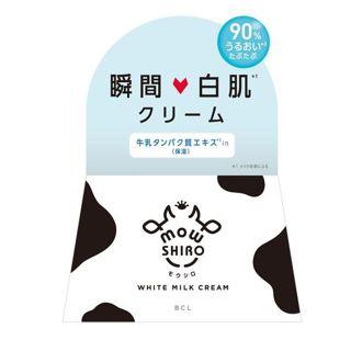 モウシロ トーンアップクリーム ミルクホワイト 30gの画像