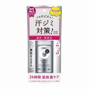 エージーデオ24 デオドラントロールオンDX 無香性 <医薬部外品> 40ml の画像 0