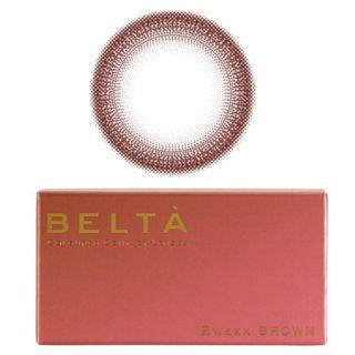 BELTA カラコン カラーコンタクトレンズ ベルタ 2week 度あり 度なし 1箱6枚入り BELTA 送料無料 2週間の画像