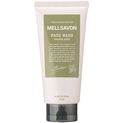 メルサボンのメルサボン Mellsavon フェイスウォッシュ グラースデイズ 本体 130gに関する画像1