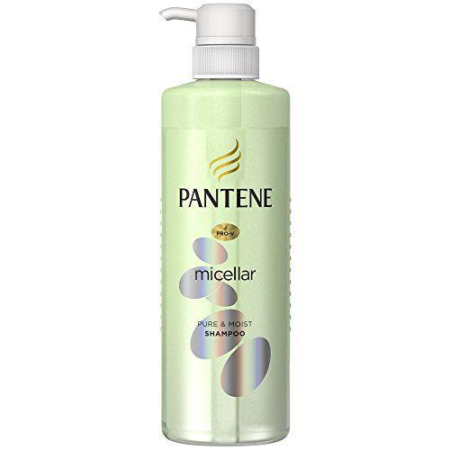 パンテーンのパンテーン PANTENE ミセラーシリーズ ピュア&モイスト シャンプー ポンプ 500mlに関する画像1