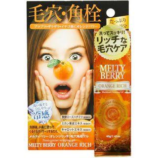 メルティベリー メルティベリー オレンジリッチ 毛穴角栓ジェル 40gの画像