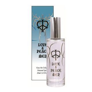 ビューア ラブ&ピース LOVE&PEACE ラブ&ピース メン オーデコロン SP 30ml 香水 フレグランスの画像